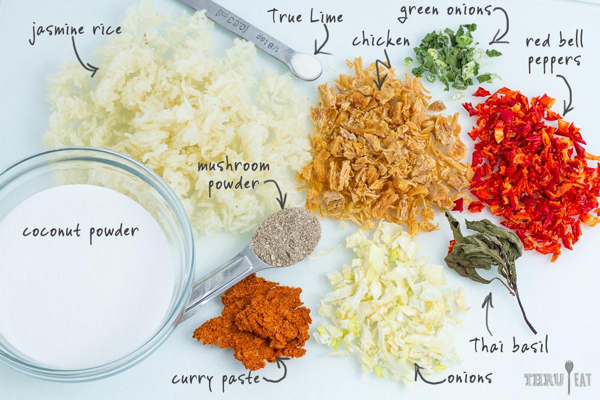 Chicken Thai Curry Thrueat